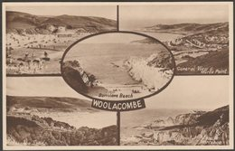 Multiview, Woolacombe, Devon, C.1950s - Postcard - England