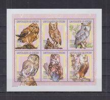 S551. Guinea - MNH - Nature - Birds - Owls - Briefmarken