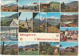 GOLF: Megève L'Ensoleillée  (Haute-Savoie, France) - GOLF - Souvenir - Alt. 1113 M. - Golf
