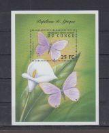 K552. Congo - MNH - Nature - Butterflies - Flowers - Briefmarken