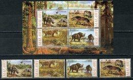 Y85 MALAWI. (FANTASTICS) 2010. DINOSAURES. FAUNA - Briefmarken