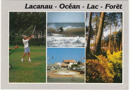 GOLF:  Lacanau-Ocean  - Lac - Foret - Golf - (Gironde, France) - Golf
