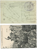 Ospedale Militare Italiano A Grenoble 6mar1919 Cartolina Franchigia X Cuneo - Military Mail (PM)