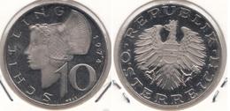 AUSTRIA 10 Schilling 1974 Proof KM#2918 - Austria