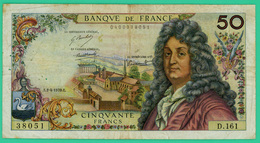 50 Francs - France -  Racine  - N° D.161 38051 / E.2-4-1970.E. - TTB - 1962-1997 ''Francs''