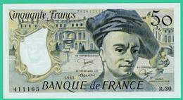 50 Francs - France -  Quentin De La Tour - N°R.30 400065 / 1983  - Neuf - 1962-1997 ''Francs''