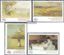 Australia 1161-1164 (complete.issue.) Unmounted Mint / Never Hinged 1989 Paintings - 1980-89 Elizabeth II