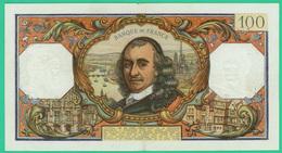 100 Francs - France -  Corneille - N° N.308 81795 / D.7-3-1968.D. .- Sup - - 1962-1997 ''Francs''