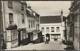 Quay Hill, Lymington, Hampshire, C.1955 - Valentine's RP Postcard - England