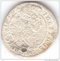 Bohemia 3 Kreuzer 1708 GE Prague - Czechoslovakia