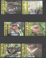 Q975 2015,2016 NIUAFO'OU TONGA SAMOA FLORA FAUNA BUTTERFLIES !!! MICHEL 390 EURO !!! 6BL MNH - Schmetterlinge