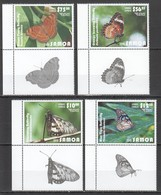 Q979 2015 SAMOA NIUAFO'OU TONGA FLORA & FAUNA BUTTERFLIES !!! MICHEL 120 EURO !!! 1SET MNH - Schmetterlinge