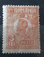 Error  ROMANIA 1922   KING FERDINAND  3 LEI, UNUSED With Gumm - Variétés Et Curiosités