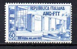 ITALIA TRIESTE 1952 MINT MNH,, - Nuevos