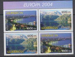 Europa Cept 2004 Azerbaijan 2x2v From Booklet  ** Mnh (40742M) - 2004