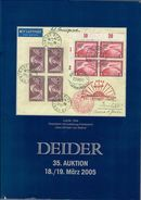 35. Deider Auktion 2005 - Auktionskataloge