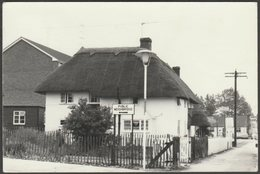 Thatched Cottage, Andover Road, Ludgershall, Wiltshire, 1973 - RP Postcard - England