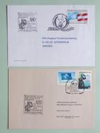 Militari ONU, FORZE DI PACE 1, Annulli Speciali ONU E Austria Dedicati Alle Missioni Di Pace - Militaria