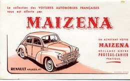 Buvard Maizena (Renault 4 Cv) - Food