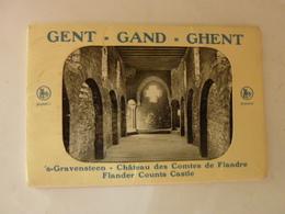 Pochette 10 Cartes - Gent - 's-Gravensteen - Château Des Comtes De Flandre - Gand - Ghent - Gent