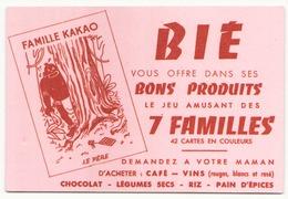 "Buvard 16.5 X 11.5 Cm "" Bié "" - Food"
