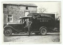 LIEGE - Union Coopérative - Repro 17 X 12 - Photo Prise à Anthisnes - Riproduzioni