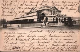 ! Alte Ansichtskarte 1902 Port Elizabeth, Deutscher Club, Südafrika, South Africa, Gel. Nach Hamburg - Südafrika