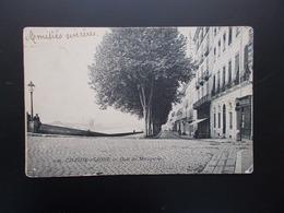 CHALON-sur-SAÔNE  Quai Des Messageries  1906 - Chalon Sur Saone