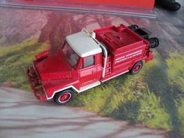 Véhicule De Pompier - ACMAT V LR A 4X4 - 1/55 - SOLIDO FRANCE - N°21 - Pompiers