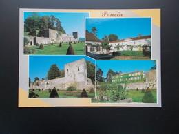 PONCIN  Le Château  Carte Années 70 - Francia