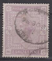 GREAT BRITAIN 1883-84 2/6 Shilling - 1840-1901 (Viktoria)
