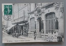 BRIVE..FACADE DU CREDIT LYONNAIS - Brive La Gaillarde