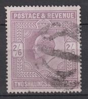 GREAT BRITAIN 1902 - 2/6 Shilling - Gebraucht