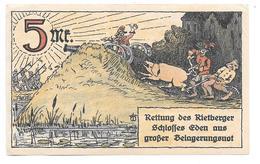 **notgeld  Rietberg 5 Mark 1123.1 - [11] Emissions Locales