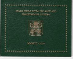 2018 - PONTIFICATO DI PAPA FRANCESCO - MONETE DIVISIONALI IN EURO - ANNO 2018 - Vaticano