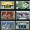 France (1924) N 210 à 215 ** (Luxe) - Neufs