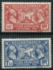France (1927) N 244 à 245 ** (Luxe) - Neufs