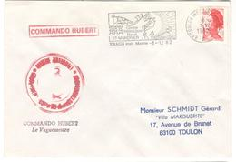 7836 - COMMANDO HUBERT - Postmark Collection (Covers)