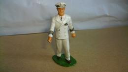 Figurines Soldat Marin Plastique Marque Starlux Soldat Gradé 6 Cm De Haut - Army