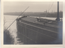 Péniche - à Situer - Aak - Te Situeren - Photo Format 9 X 11.5 Cm - Boats