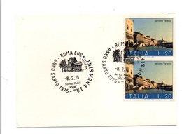 ITALIE OBLITERATION ANNEE SAINTE 1975 ROME - Affrancature Meccaniche Rosse (EMA)