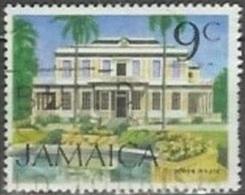 1972 9 Cent Devon House, Used - Jamaica (1962-...)