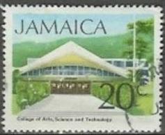 1972 20 Cent College, Used - Jamaique (1962-...)