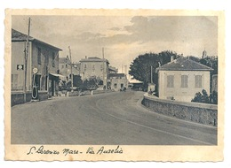 S. LORENZO  MARE - Via Aurelia - Distributore Benzina - Imperia