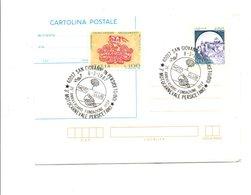ITALIE OBLITERATION SUR ENTIER 25 ANS MOTO CLUB SAN GIOVANNI IN PERSICETO 1987 - 1981-90: Marcofilie