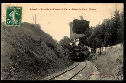 BLAMONT - Tranchée Du Chemin De Fer Et Ruines Du Vieux Château - Blamont