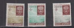 AFGHANISTAN 1962 * YT N° 646 A 648 - Afghanistan