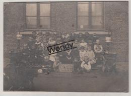 Neder-over-Heembeek (originele Foto Schoolklas - Op Karton Ft 11,8x16,5) - Brussels (City)
