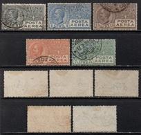 ITALIE - ITALIA / 1926 POSTE AERIENNE # 4 & 6 A 9 OBLITERES / COTE 81.00 EUROS  (ref 3032a) - 1900-44 Victor Emmanuel III