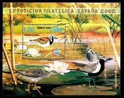 CUBA. BF 175 De 2002 Neuf Sans Charnière (MNH). Râle De Caroline/Espana 2002. - Autres